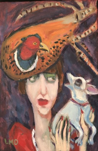 Lucy Dickens, Pheasant Hat