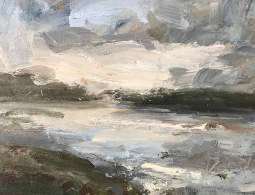 Louise Balaam, Loch, Sky Reflected (London Gallery)