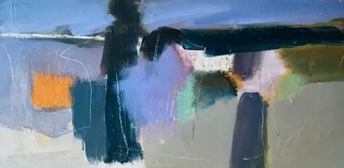 Dafila Scott, The Edge of Fen in Winter (London Gallery)