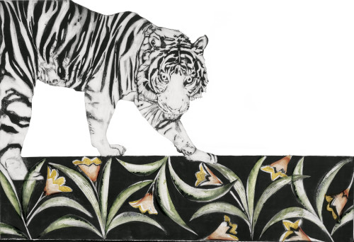 Beatrice Forshall, Bengal Tiger (Framed)