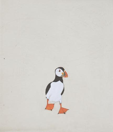 Kate Boxer, Puffin (Mounted)