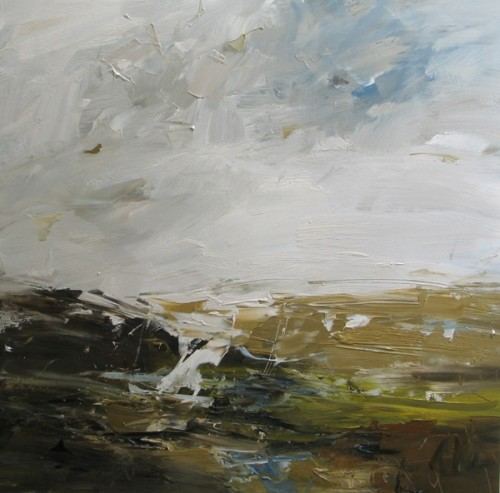 Louise Balaam, Preseli Hills, Glancing Light (London Gallery)