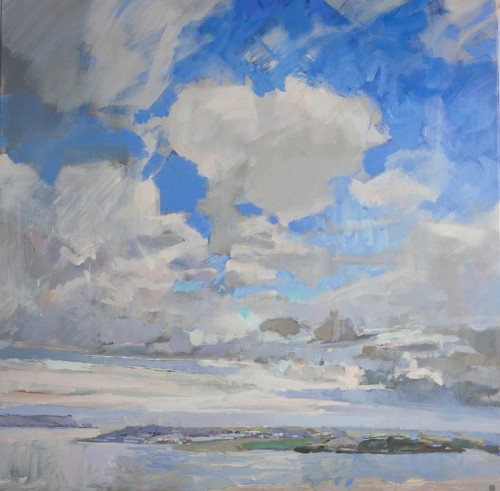 Andrew Jago, Camel Estuary from a Hill No. 6 (Hungerford Gallery)