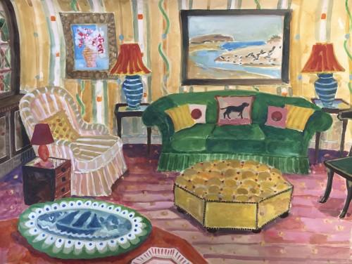 Lottie Cole, Interior with Winifred Nicholson