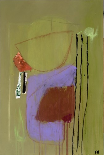 Felice Hodges, Chartreuse and Lilac (London Gallery)