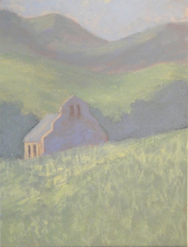 Hermione Owen, Church in France (Hungerford Gallery)