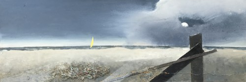 Keith Purser, Debris Moonlight, 2017 (London Gallery)