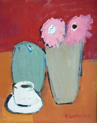 Bridget Lansley, Tea Break (Hungerford Gallery)