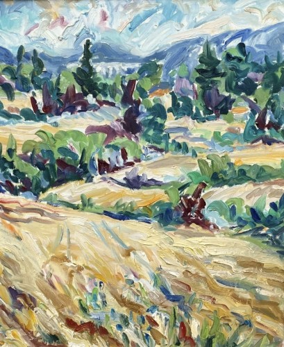 Fi Katzler, Wheat Fields, Aix les Milles (London Gallery)