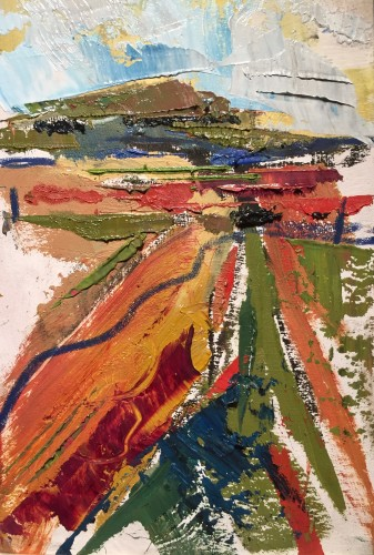 Emma Haggas, Hill Top (Hungerford Gallery)