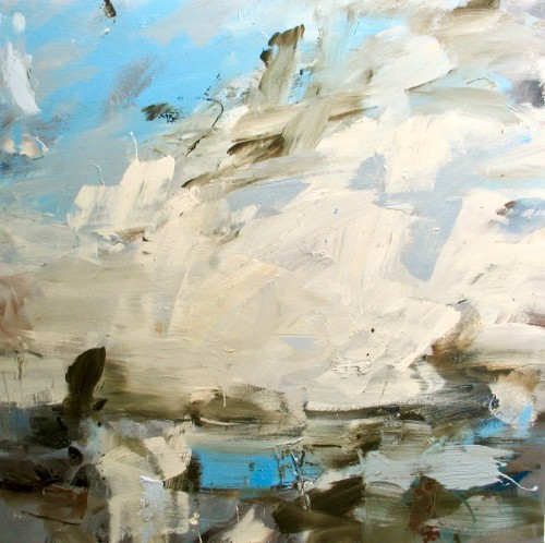 Louise Balaam, Dutch Sky, Low Water (Hungerford Gallery)