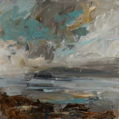 Louise Balaam, Turquoise Sky (Hungerford Gallery)