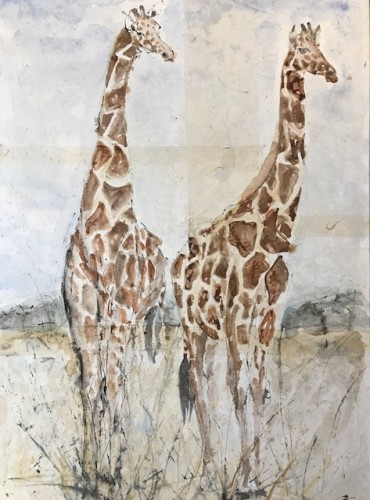 Christine Seifert, Giraffes (London Gallery)