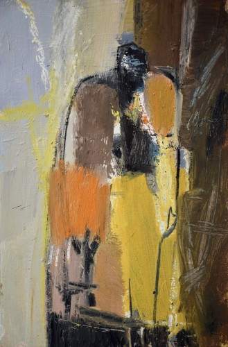 Dafila Scott, Approaching Figure (London Gallery)