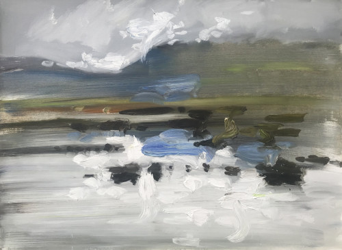 Richard Colson, Rannoch Moor Loch I (Hungerford Gallery)