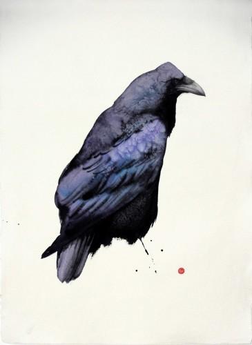 Karl Martens, Raven I (Unframed) (London Gallery)