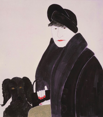 Kate Boxer, Dorothy Parker (Mounted)