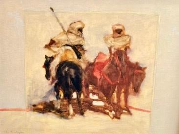 Antoine de La Boulaye, Orientalist Horsemen V