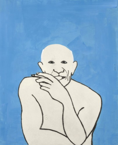 Kate Boxer, Picasso (Unframed)