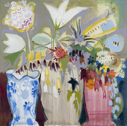 Annabel Fairfax, Fuchsia, Lily and Ivy (London Gallery)