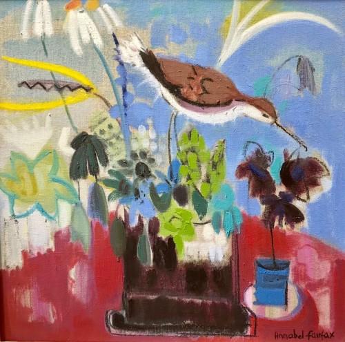 Annabel Fairfax, Oystercatcher (Hungerford Gallery)