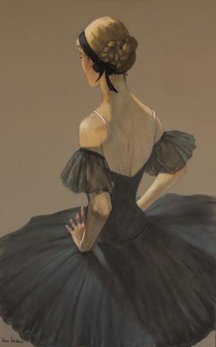 Katya Gridneva, Black Swan (Hungerford Gallery)