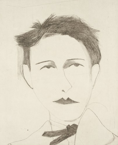 Kate Boxer, Arthur Rimbaud (Unframed)