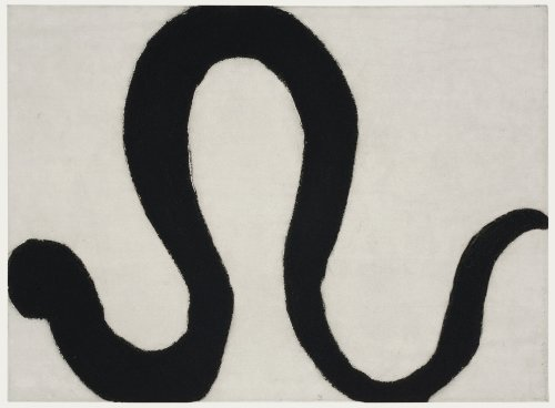 Kate Boxer, Snake II (Mounted)