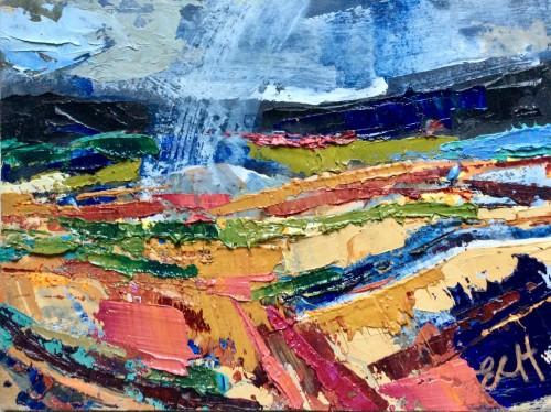 Emma Haggas, Rain Storm (Hungerford Gallery)