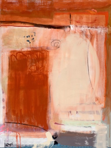 Felice Hodges, Orange Burning (London Gallery)