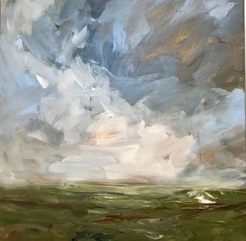 Louise Balaam, Light Coming Up, Carn Brea (Hungerford Gallery)