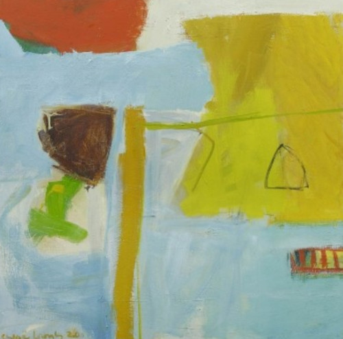 Chloë Lamb, Seahouses II (Hungerford Gallery)