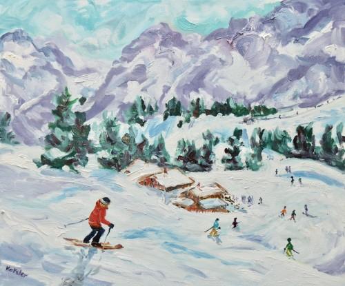 Fi Katzler, Run down to Lunch (Hungerford Gallery)