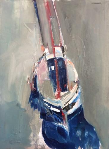 Jo Vollers, Fishing Boat (London Gallery)