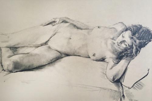 Valeriy Gridnev, Nude (Hungerford Gallery)