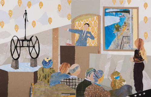 Dione Verulam, A Young Buyer (Hungerford Gallery)