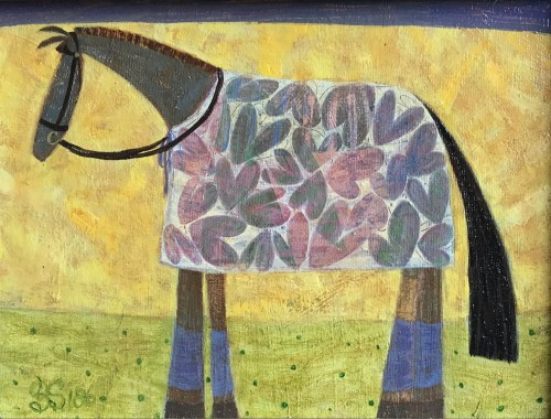 Ellen Skidmore, Mellow (Hungerford Gallery)