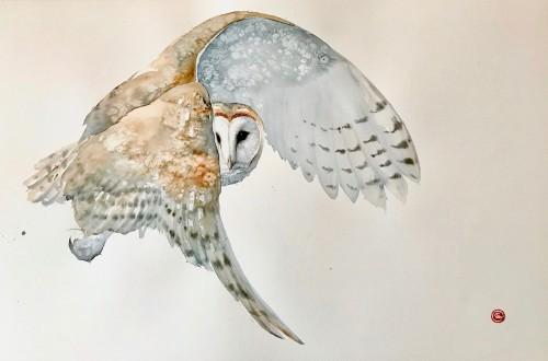 Karl Martens, Barn Owl (London Gallery)