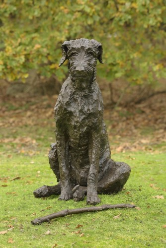 Rosemary Cook, Harry (Wolfhound) (Hungerford Gallery)