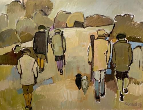 Bridget Lansley, Shooting Through (London Gallery)