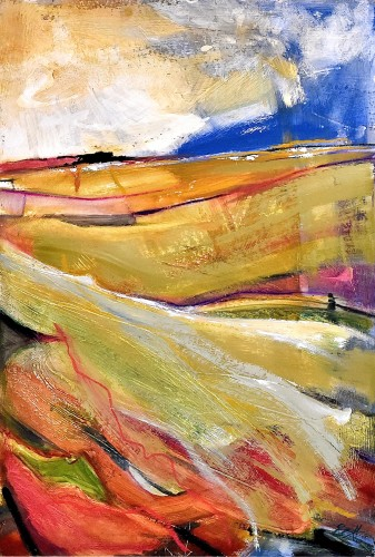 Emma Haggas, Scudding Clouds (London Gallery)