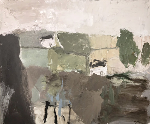 David Pearce, Across the Valley (Hungerford Gallery)