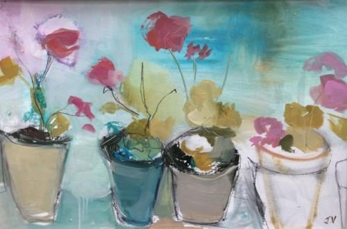 Jo Vollers, Hydrangeas (London Gallery)