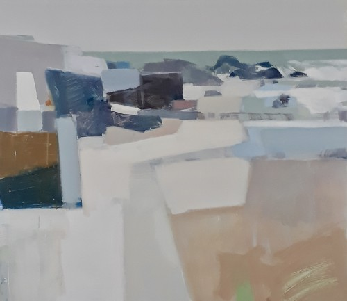 Myles Oxenford, St Ives Harbour (Hungerford Gallery)