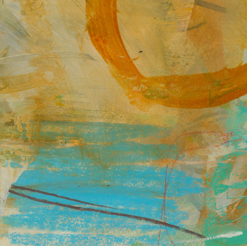 David Mankin, Sea Pools in the Sun (Hungerford Gallery)