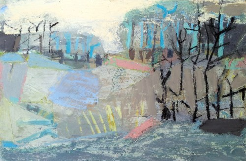 Liz Hough, River Walk (Hungerford Gallery)