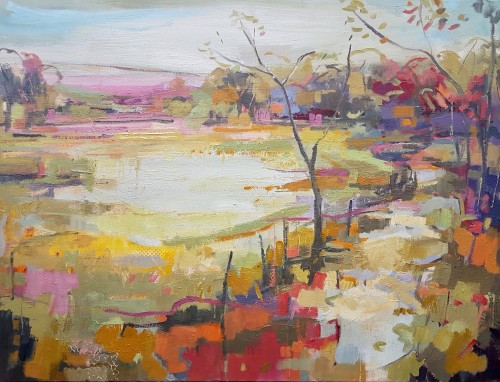Kate Rhodes, Turning into Autumn (London Gallery)