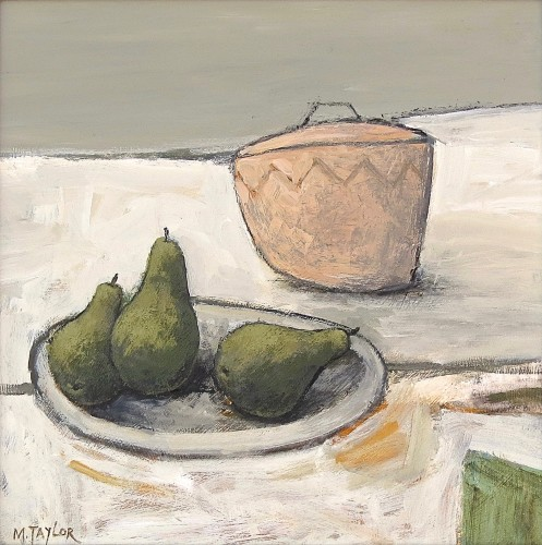 Malcolm Taylor, Three Pears (Hungerford Gallery)
