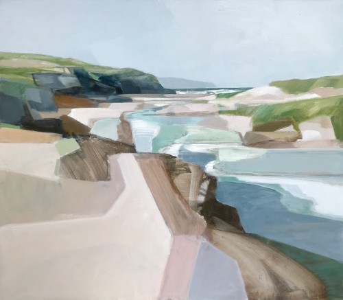 Myles Oxenford, Hayle Rivermouth Towards St Ives (London Gallery)