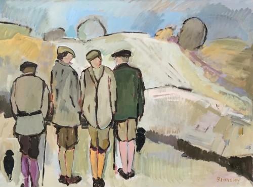 Bridget Lansley, Pausing (Hungerford Gallery)